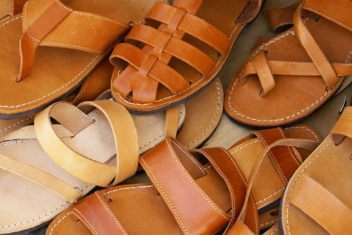Visit Greece   Leather sandals made in Greece #shopping #leisure #sandals #summer #SeeAndDo