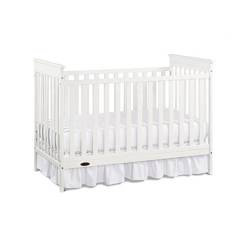 Graco Macie Classic Crib Classic White Toddler Bed