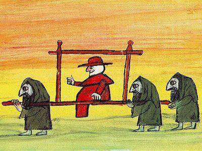 Emanuele Luzzati, animazioni per Brancaleone alle crociate