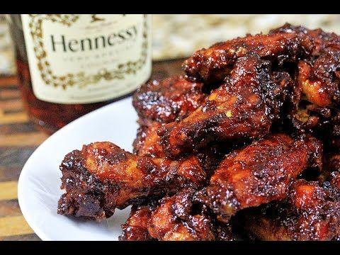 Orange-Hennessy BBQ Wings | CarnalDish