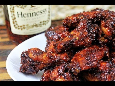 Orange-Henny BBQ Wings | How to make Henny BBQ Sauce - YouTube