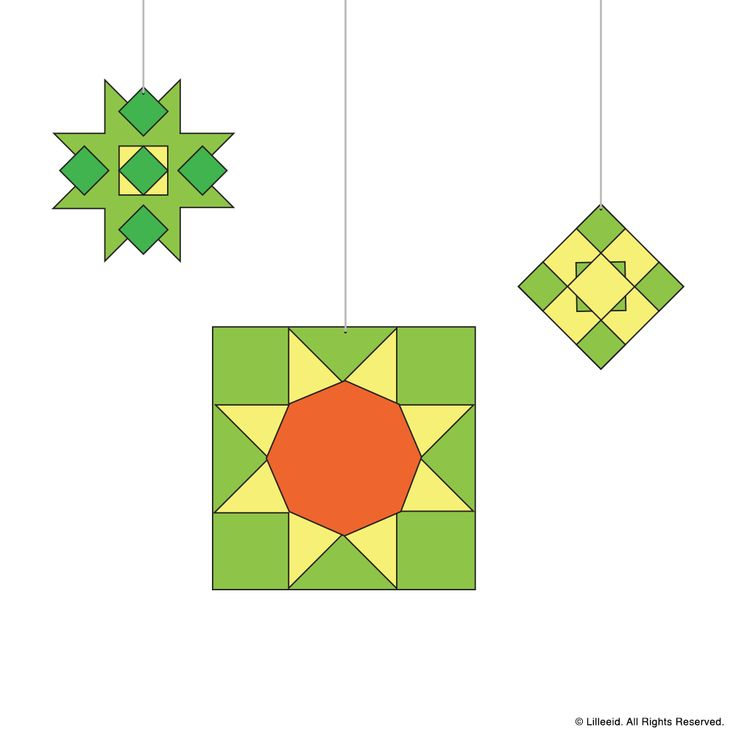 Islamic Rosettes: Aya, Solafa, Janelle  Ramadan & Eid Decoration