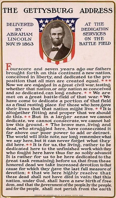 best the gettysburg address ideas gettysburg  the gettysburg address 19 1863