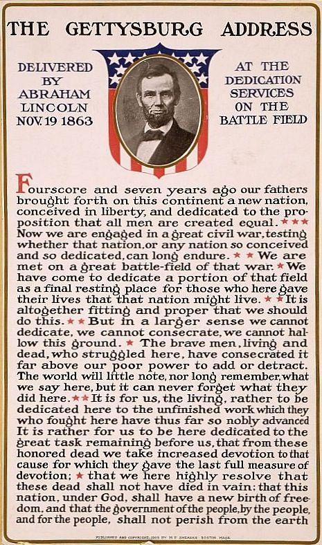 best the gettysburg address ideas gettysburg  the gettysburg address 19 1863