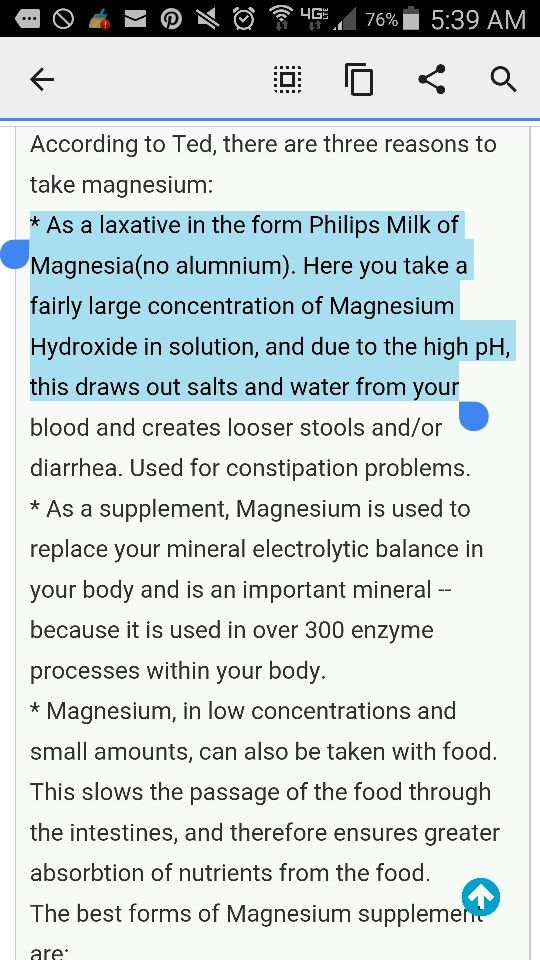 134 best Health; Magnesium images on Pinterest | Insomnia ...