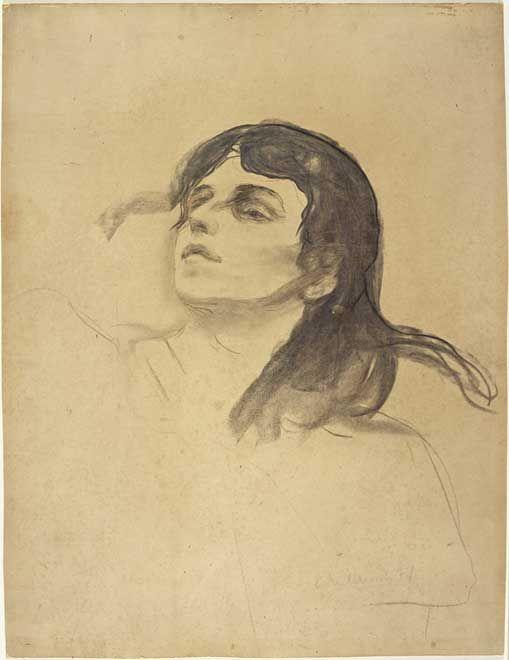 Edvard Munch - Madonnas Ansikt, 1894