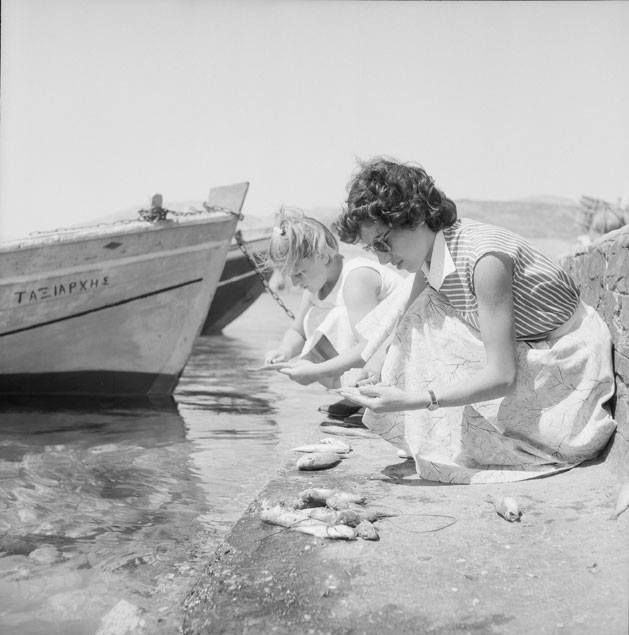 Paros island, 1958. Photo by Zacharias Stellas Benaki Museum Photographic Archives