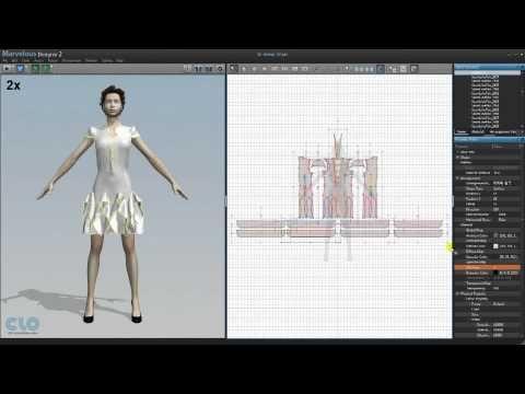 Marvelous Designer 2 fashion design software http://www.marvelousdesigner.com