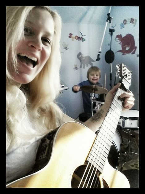 ♥ Making music with my little man ♥