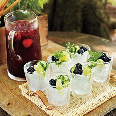 Blackberry Cocktail Recipe | MyRecipes.com