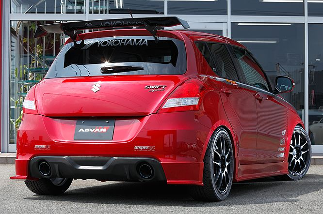 ADVAN / GALLERY / ADVAN MATCHING GALLERY / SUZUKI SWIFT Sport [ZC32S] 2012y / SunLine Racing [SHOP DEMO-CAR]