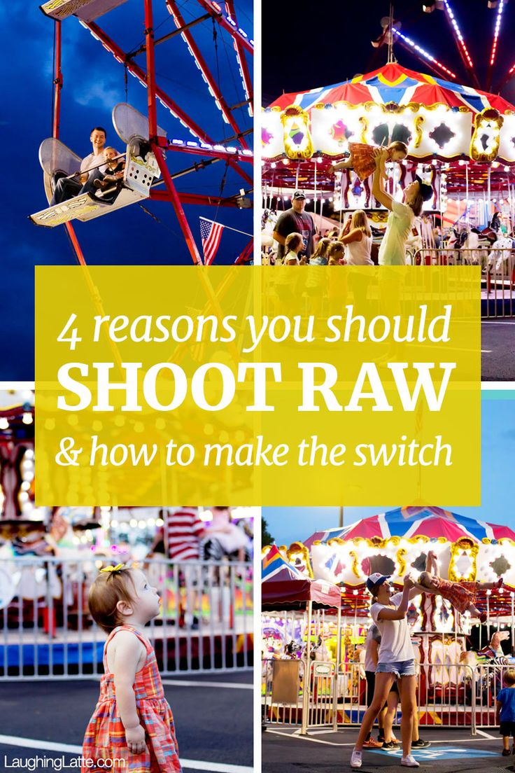 4 reasons to shoot in RAW and how to make the switch