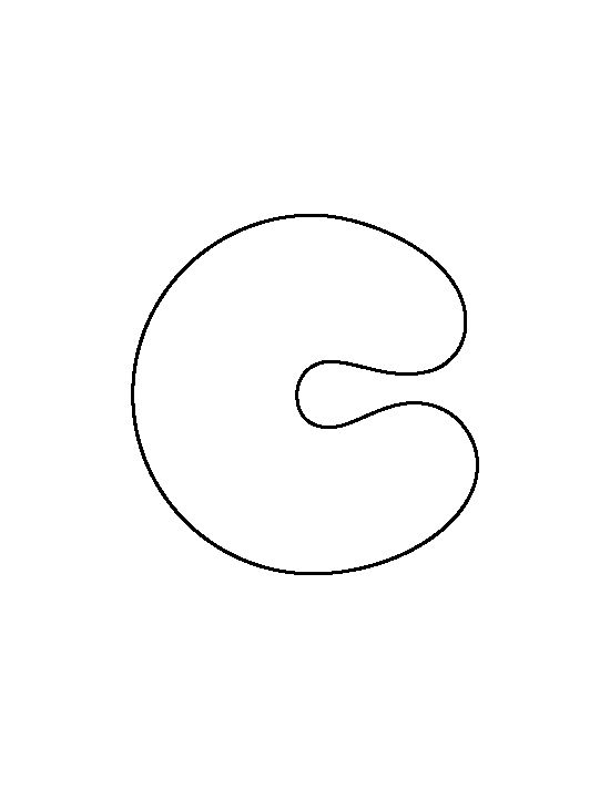 bubble letter c lowercase letter c pattern use the printable 20691 | 67c2f31bb0d9acb7ba0339a50f792e93