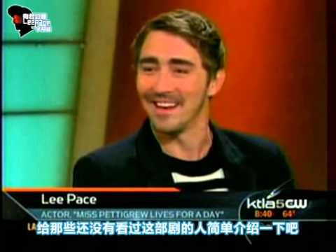 Pushing Daisies 08.3 KTLA Morning News Lee Pace Interview 有君如佩 - YouTube