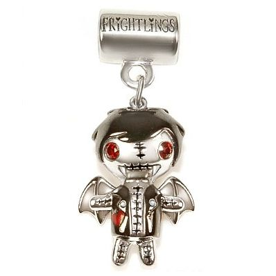 Frightlings Victor Vampling Solid Sterling Silver Charm