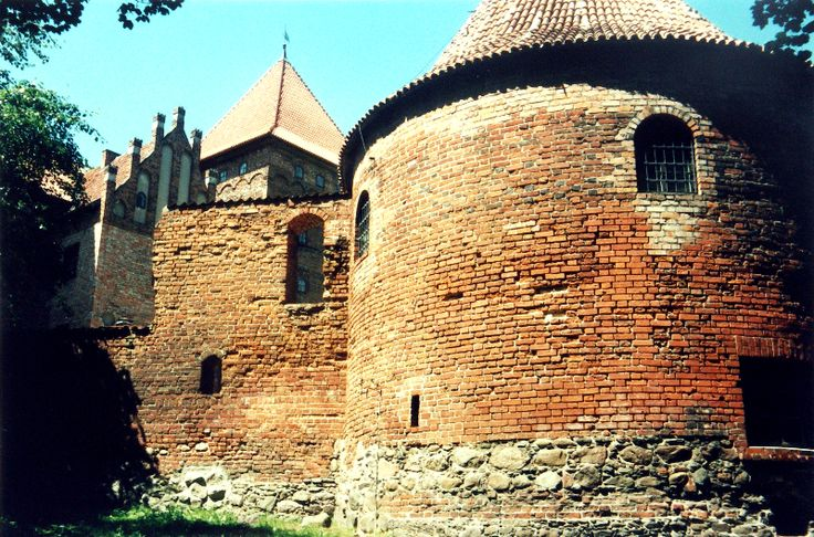Castle in Nidzica built by the Teutons at the end of XIV century.
