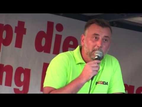PEGIDA Dresden 07.08.2017 Lutz Bachmann Hört nicht auf zu kämpfen für ei...