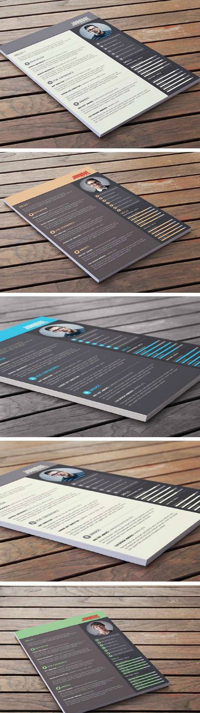 A free resume/CV template that comes in four different color themes. Available for free to download in PSD format. Download Here - posted under Freebies tagged with: CV, Free, Graphic Design, Print, PSD, Resource, Resume, Template by Fribly Editorial
