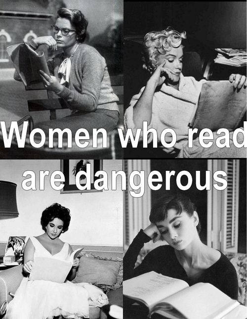 Constantly Moving the Bookmark: Women Who Read are Dangerous
