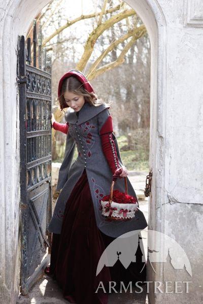 Märchenhafter Mantel Gebrüder Grimm