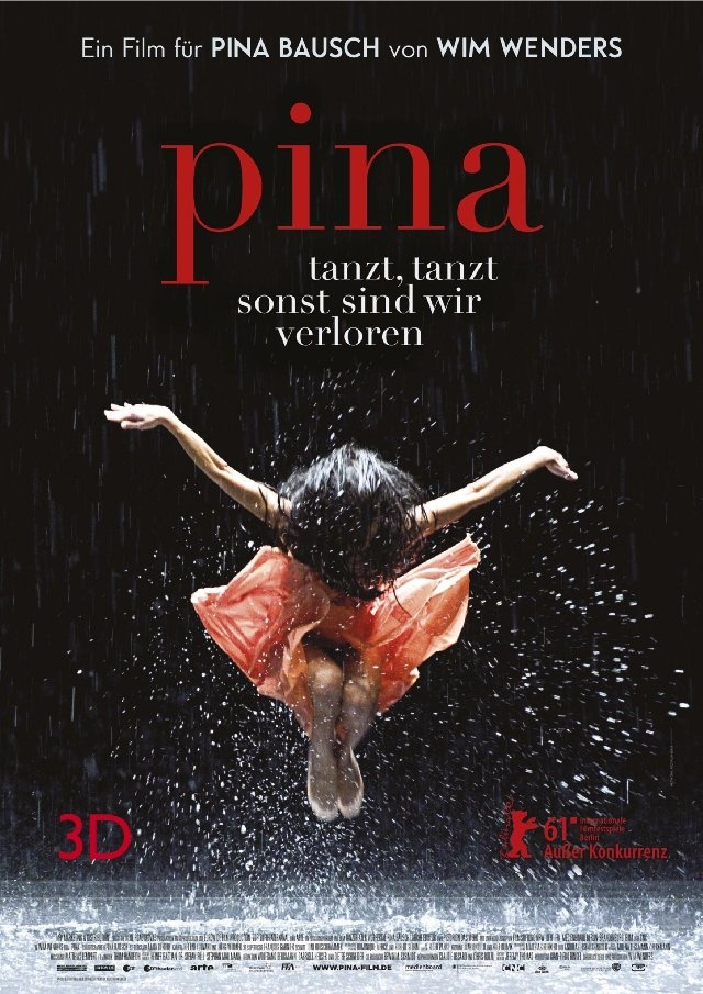 Pina. Dance-O all the way! Such a great idea, such a brilliant way to show the work and life of a legend!