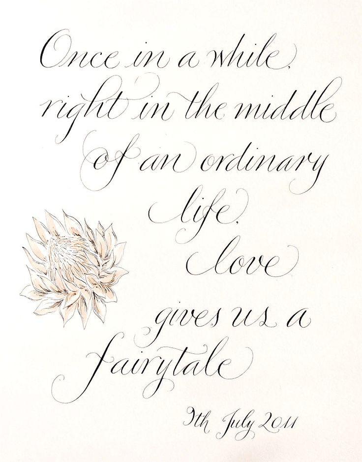 I'm living my fairytale! Happy third anniversary b Mande!