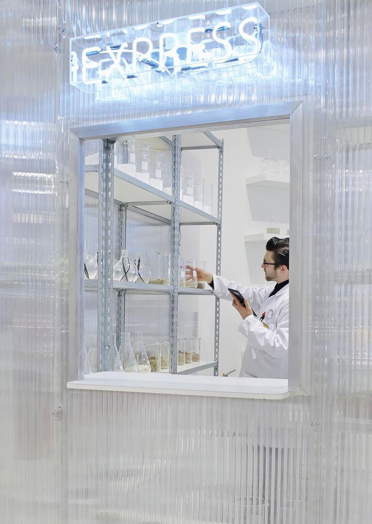 Fragrance Lab at Selfridges designed by Future Laboratory
