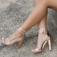 Lala ikai плюс 10 11 12 размер женщины сандалии 10 см каблуки Обуви Сексуальная Прозрачный Sandalias Mujer Для Женщин Насосы 40C0724