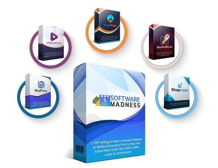 Best 5 Day Software Madness Bonus