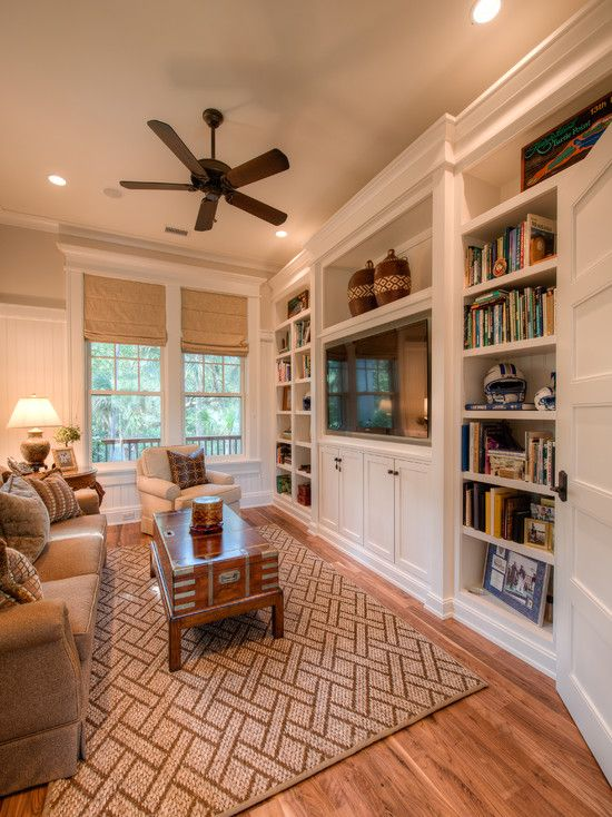 beautiful built-in family room: Living Rooms, Idea, Built Ins, Builtins, Tv Room, Livingroom, Family Rooms, Entertainment Center