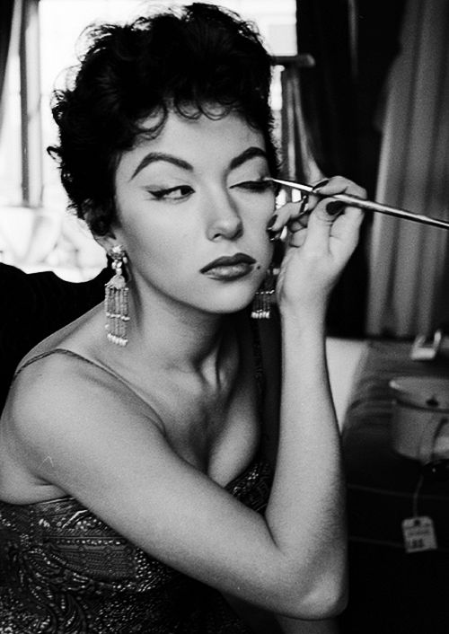 """vintagegal: """" Rita Moreno photographed by Loomis Dean for Life magazine, 1954 (via) """""""