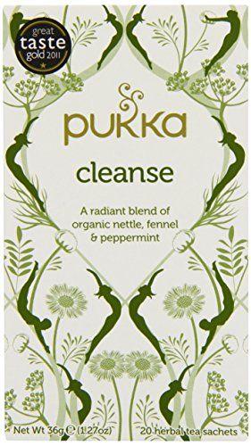 Pukka Organic Teas, Cleanse, 20 Count Pukka