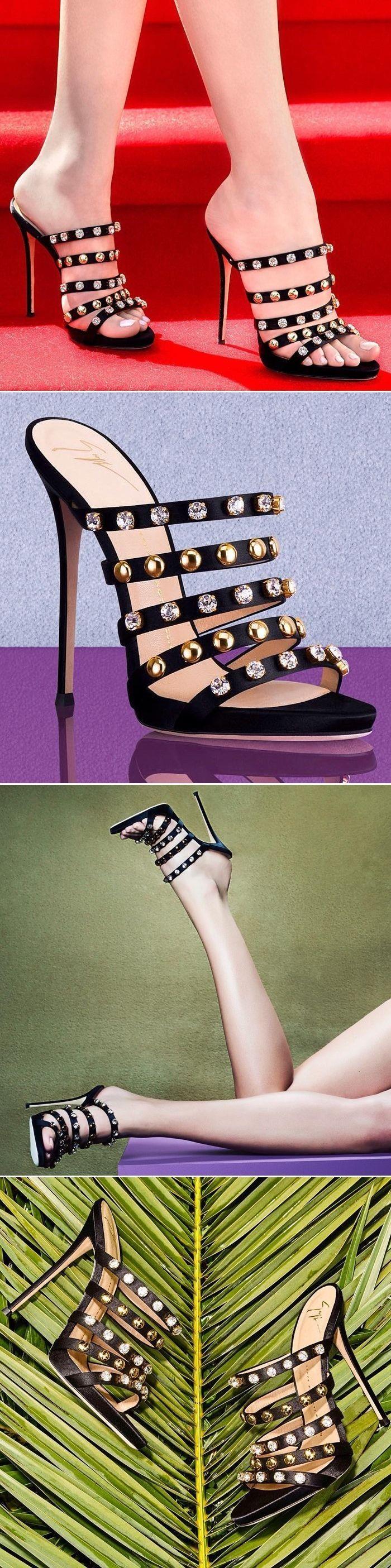 10 Latest Women's Designer Shoes From Giuseppe Zanotti #goldstilettoheels #giuseppezanottiheelsstilettos