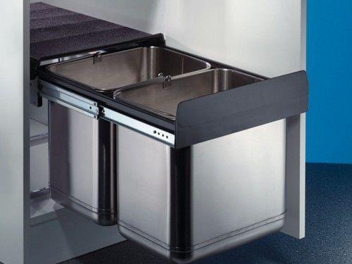 Abfalltrennsystem ile ilgili Pinterestu0027teki en iyi 25u0027den fazla - abfallbehälter für die küche