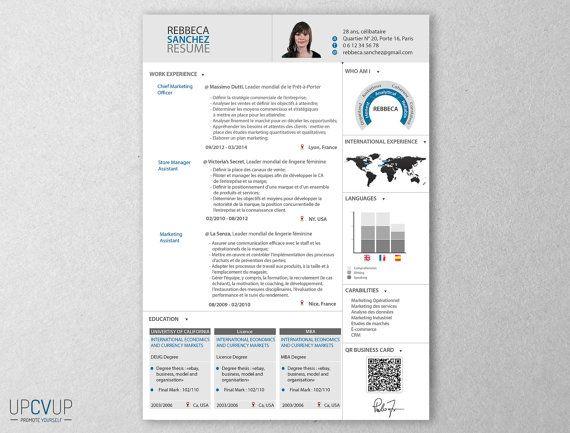 116 best cv images on Pinterest Cv template, Resume templates - flash designer resume