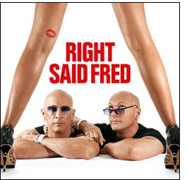 """Right Said Fred hit #1 on the charts this month (Feb) in 1992 with """"Too Sexy.""""  Check out our interview with Fred Fairbrass here: http://www.90s411.com/right-said-fred-interview.html"""