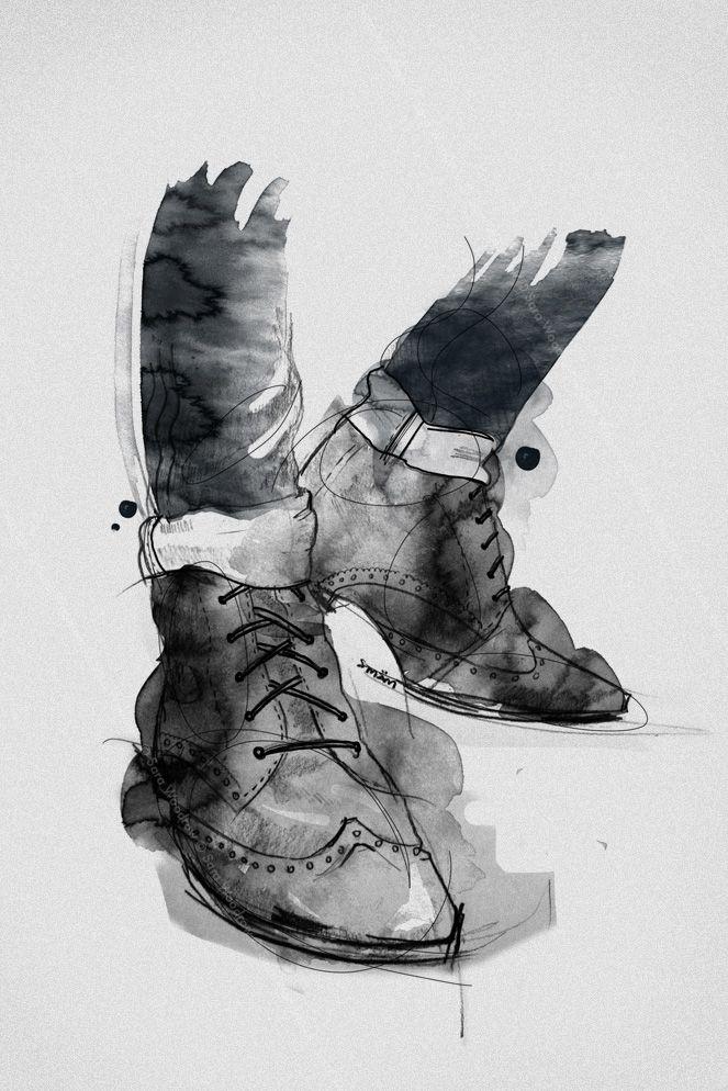 London Bloke. Illustration by Smäm.