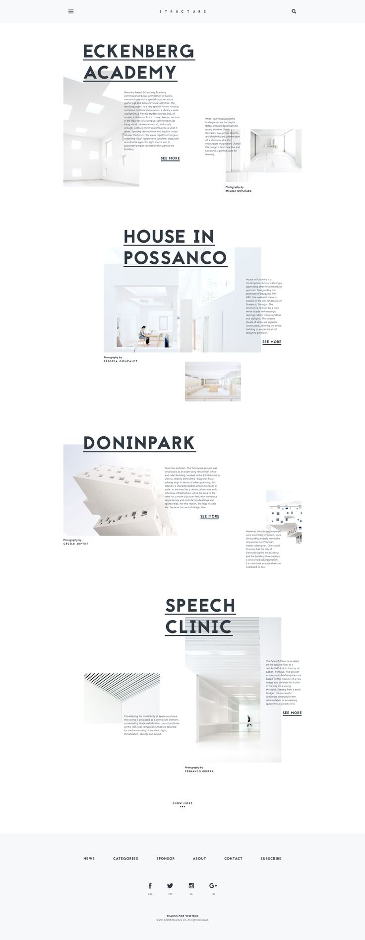 Structure – Architecture Blog