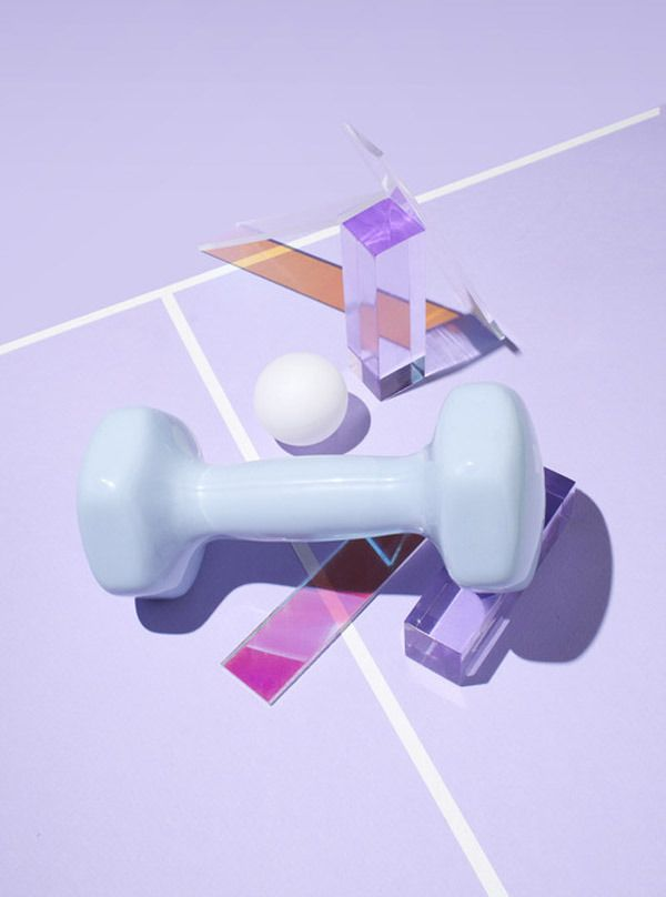Summer Olympics-inspired still lifes by photographer Richie Talboy and art Director gg-ll