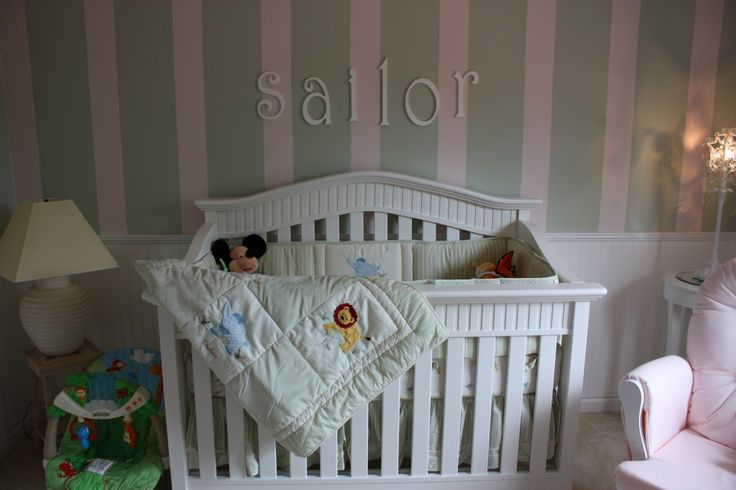 nursery wainscoting ideas   So, without further ado, here is the nursery: