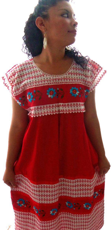 Venus de amor  mexican embroidered huipil