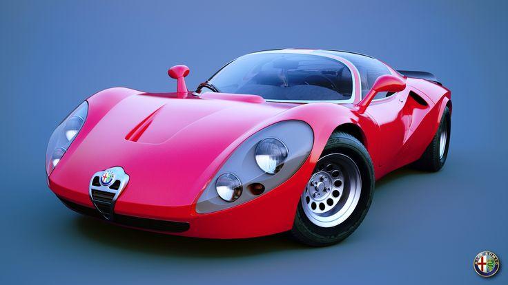 Alfa Romeo Stradale remake | Freelancers 3D