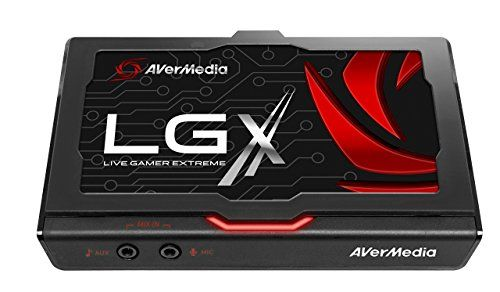 Avermedia  Live Gamer Extreme (lgx) Usb 3.0 Game Capture Card. Record And Stream In Full Hd (1080p60) With Ultra Low Latency And Audio Mixing (gc550)