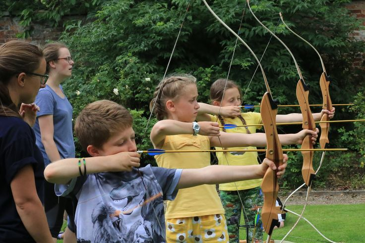 Archery - Kids parties Harrogate and Kids Parties Leeds and Kids Parties Kendal.