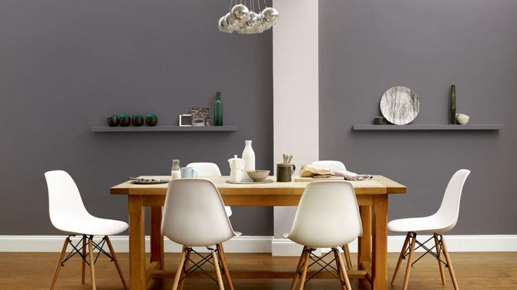 Dulux monument grey fabulous interiors pinterest for Dining room ideas in grey