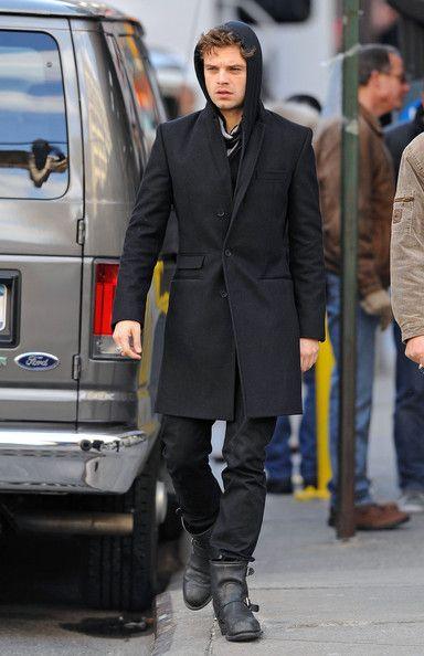 Sebastian Stan Pictures - 'Black Swan' Films in Lower Manhattan - Zimbio