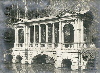 Prior Park - Palladian Bridge, c.1910?
