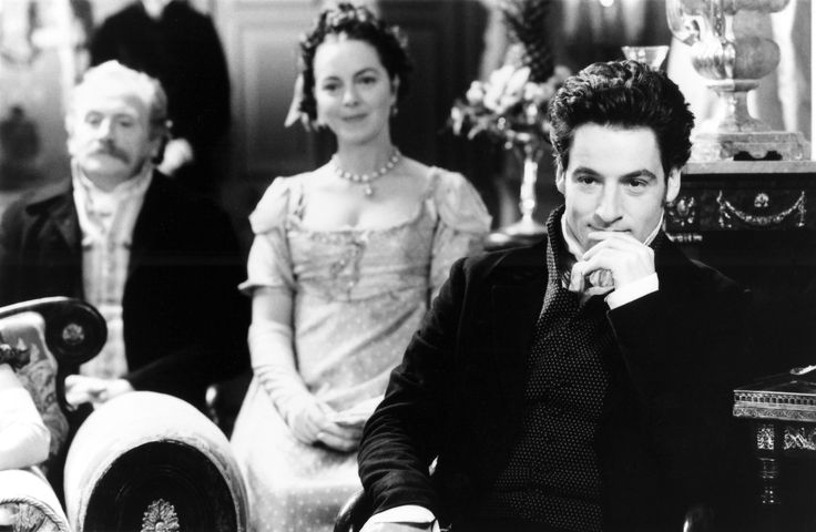 James Cosmo (Mr. Weston), Greta Scacchi (Mrs. Weston) & Jeremy Northam (Mr. Knightley) - Emma
