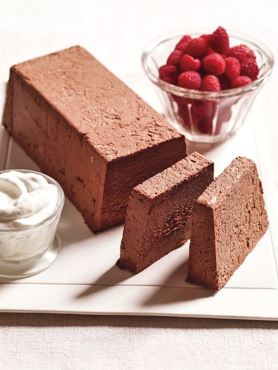 marquise au chocolat traditionally the marquise is packed into a loaf pan frozen and then