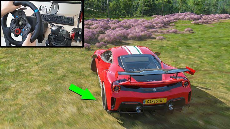 Ferrari 488 pista forza horizon 4 logitech g29